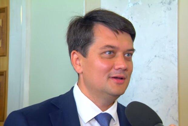 Дмитро Разумков, фото YouTube