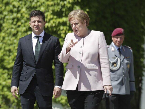 """Меркель сделала срочное заявление и толкнула Зеленского в """"объятия"""" Путина: """"Хочу увидеть прогресс"""""""
