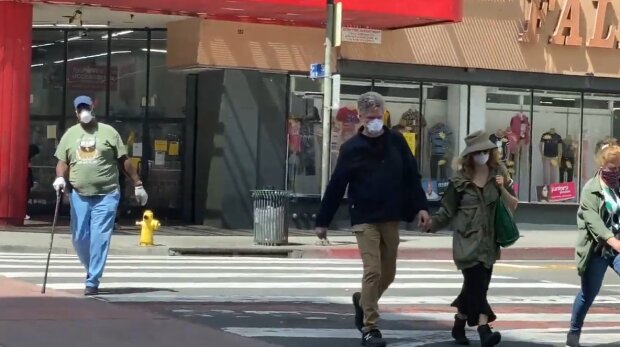 Карантин в США, скриншот: YouTube