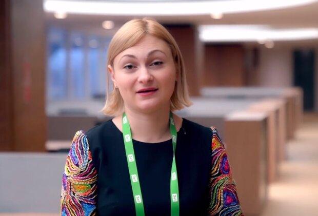 Евгения Кравчук, скриншот YouTube