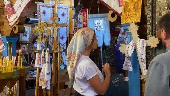 Уникальная церковь на Закарпатье, скриншот
