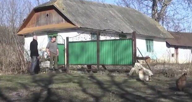 На Тернопільщині ветеран АТО поліз у зашморг, скріншот із відео
