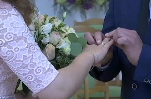 Свадьба, скриншот с видео