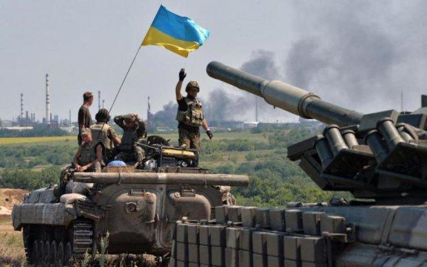 Танк дебилам не игрушка: как украинские воины перемирие соблюдали