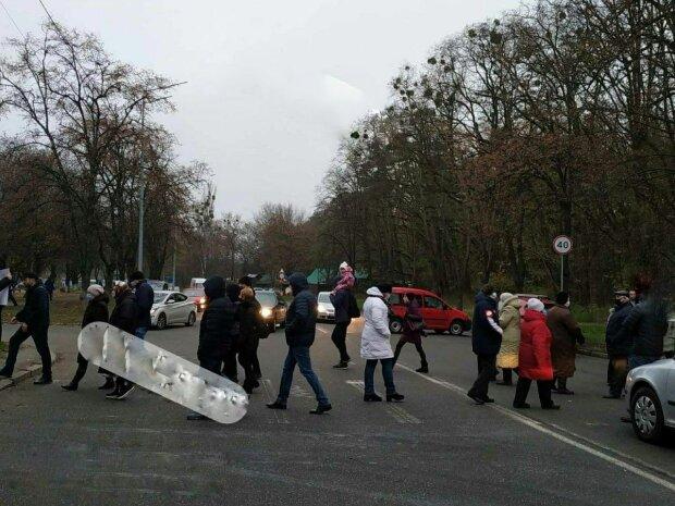 """Митинг в Киеве, фото: Ху""""вый Киев"""