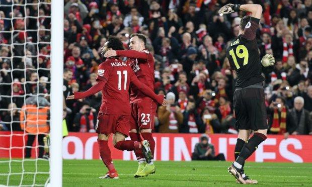 Ліверпуль влаштував погром Арсеналу, Фірміно оформив хет-трик