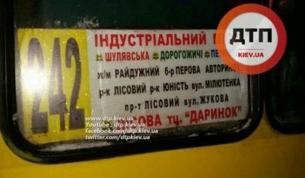 Водитель столичной маршрутки пил за рулем