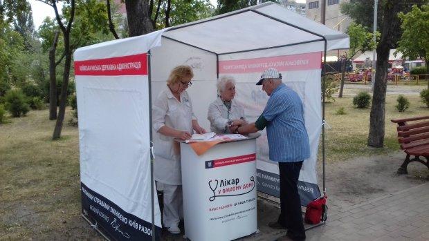 В Киеве можно бесплатно проверить здоровье: где и когда