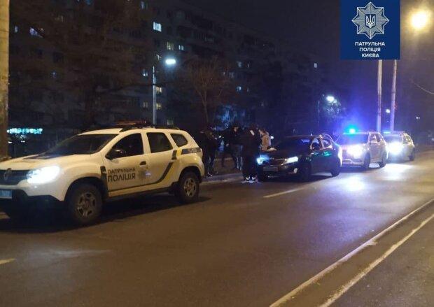задержание / фото: полиция Киева