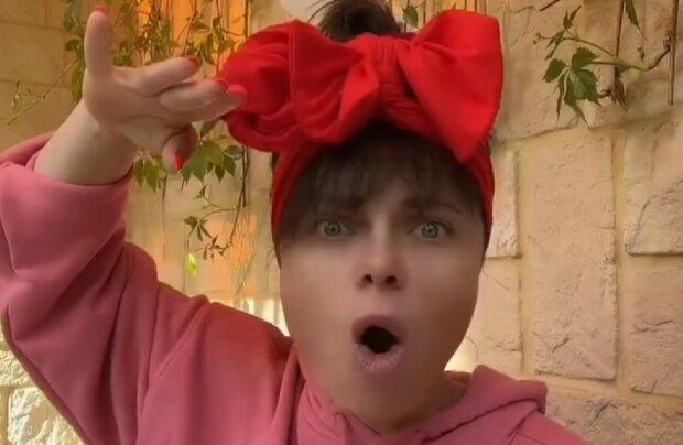 Наташа Корольова, скріншот з відео