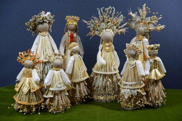 Куклы из соломы, фото: Людмила Павлова