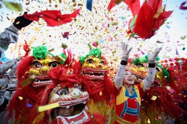 Китай святкує свій новий рік