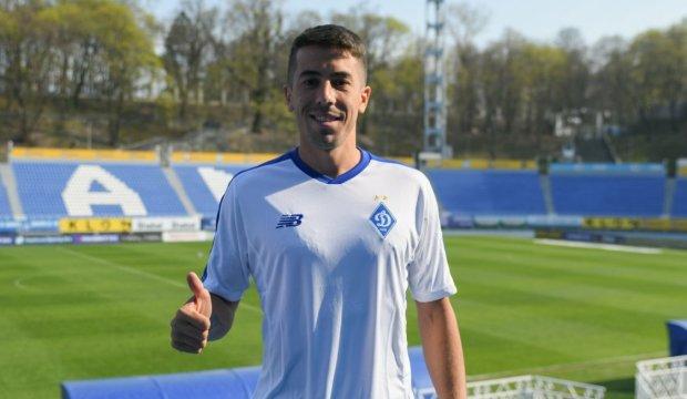 Динамо посилилося технічним уругвайцем: трансфер року