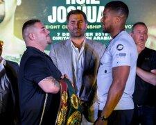 Руис и Джошуа впервые встретились перед реваншем, Boxingscene