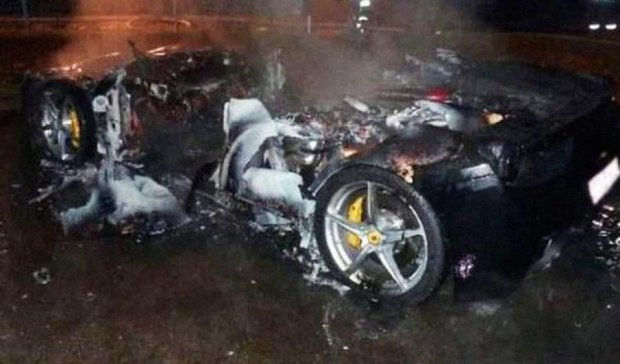 Син мільйонера у Німеччині потрапив за ґрати за підпал власного Ferrari