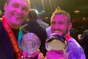 Олександр Усик і Василь Ломаченко на Конгресі WBC