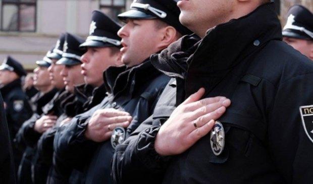 Полицейские впервые вышли на улицы Черновцов
