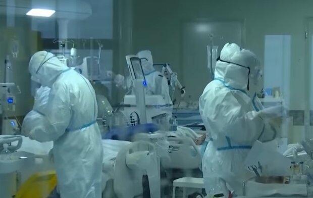 Британские медики, скриншот: YouTube