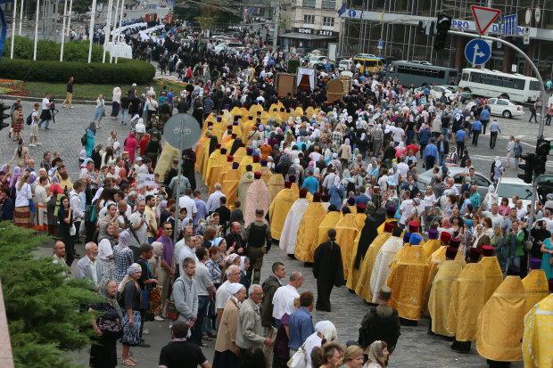 1031-летие Крещения Руси: 300 тысяч верующих вышли на улицы Киева, фото и видео
