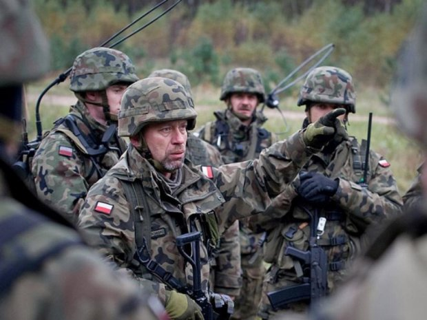 В Польше начали внезапные военные учения