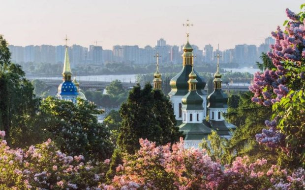 В Украину идет летняя жара. Только когда