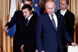 Зеленский и Путин, фото - BBC