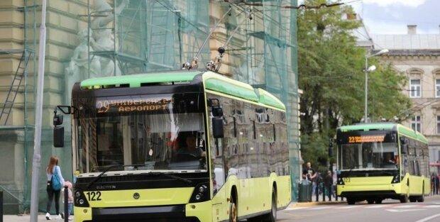 Львовский электротранспорт, фото ЛГС