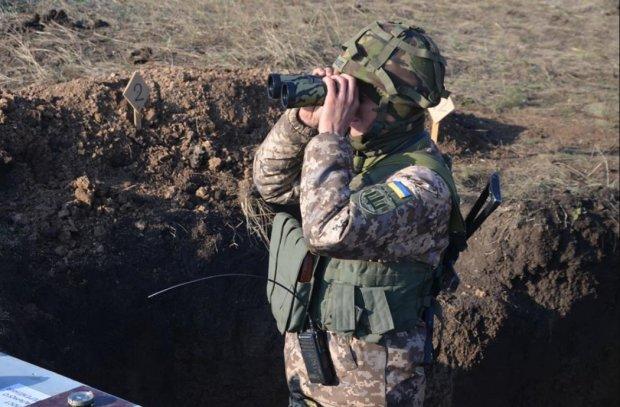 """На Донбассе украинские воины выловили """"языка"""" из Горловки"""