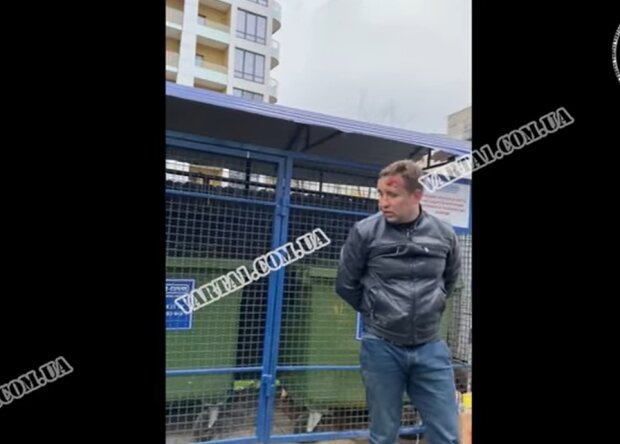 """П'яний львів'янин влаштував розбірки з копами, фото: """"Варта. Львів"""""""
