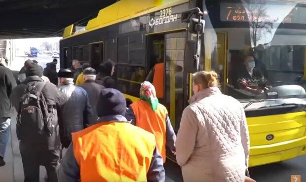 тролейбус, скріншот з відео