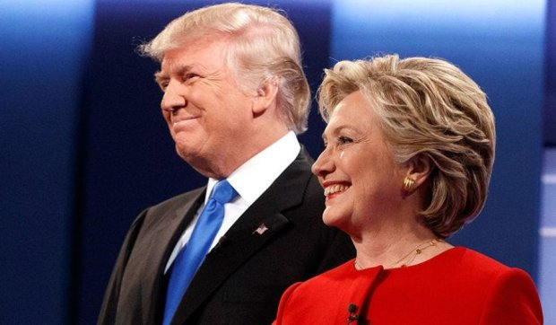 Клинтон отрывается от Трампа на пять процентов