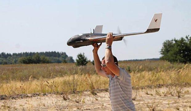 Під Черніговом випробовували безпілотники для АТО (фото)