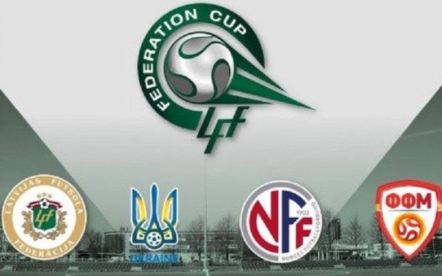 Молодежная сборная Украины по футболу выиграла Кубок Федераций