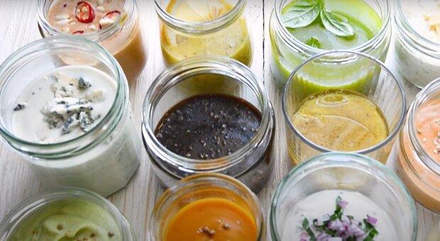 Заправки для салату, зображення ілюстративне: YouTube життя - смачна! Галина Артеменко-Рецепти