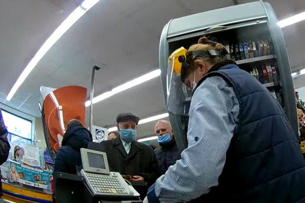 Супермаркет АТБ, фото: кадр из видео