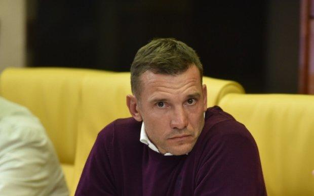 Шевченко: В три защитника сборная Украины играть не будет
