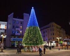Новый год в Ивано-Франковске, фото:  Місто Івано-Франківськ