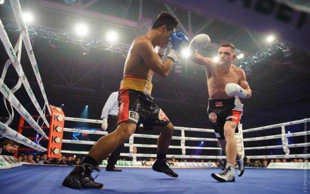 Берінчик завоював чемпіонський титул, нокаутувавши філіппінського боксера