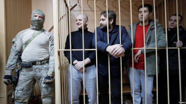пленные моряки