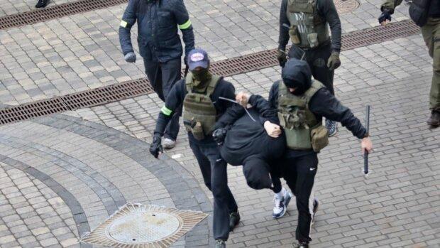 Протесты в Беларуси, фото: youtube