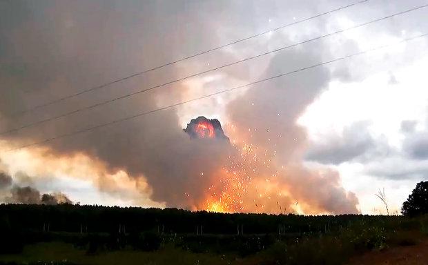 У Росії пролунали потужні вибухи на полігоні, загинули військові: подробиці