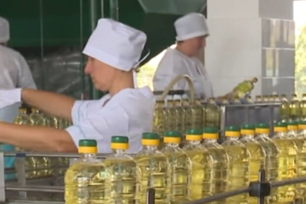 Рослинна олія, кадр з відео