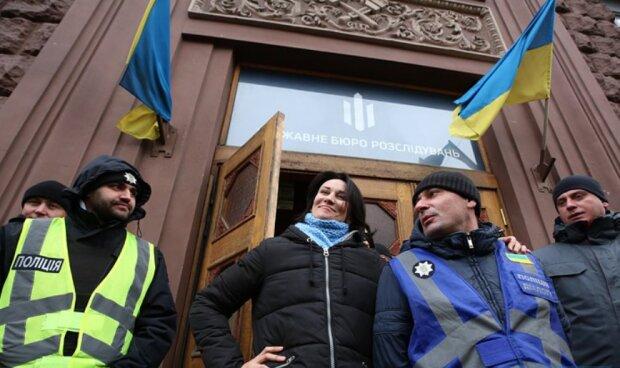 Маруся Звіробій у ДБР, фото LB.ua