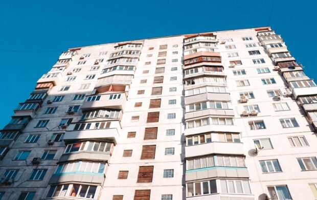 Многоэтажка в Киеве, фото с источников