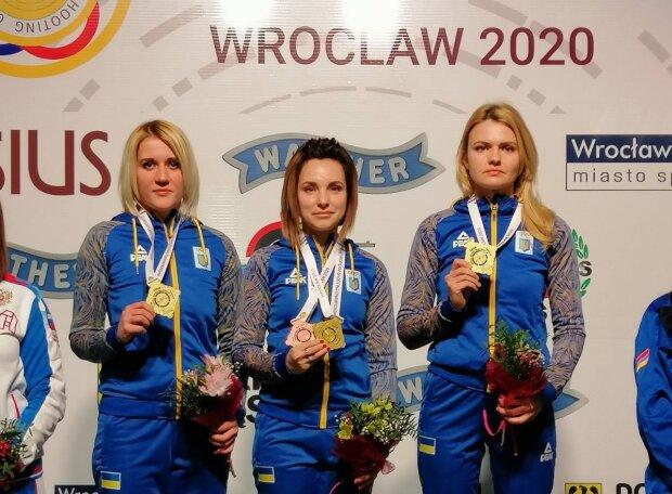 Жіноча збірна України зі стрільби виграла ЧЄ у Вроцлаві, shooting-ukraine.com