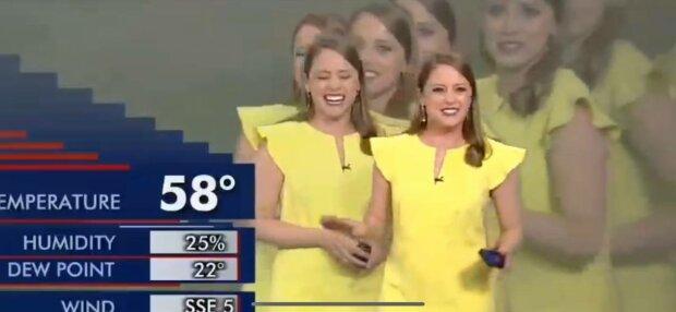 Курйоз в прямому ефірі, фото: скріншот з відео