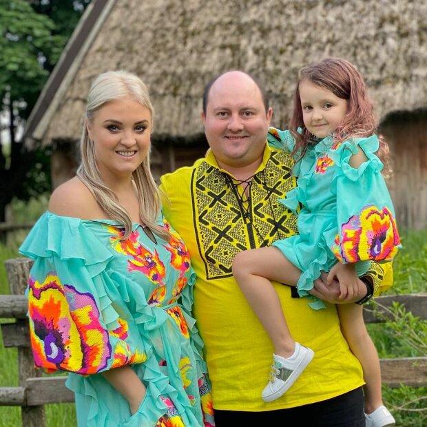 Юрій Ткач з родиною