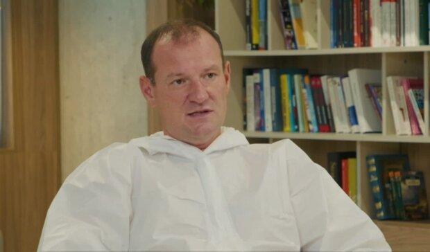 Сергій Дубров, скріншот з відео