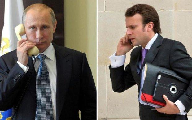 Украинский вопрос: Макрон вызвал Путина на серьезный разговор