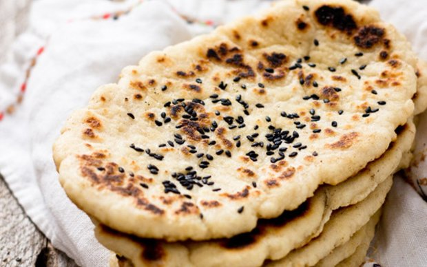 Вкусный рецепт индийских лепешек